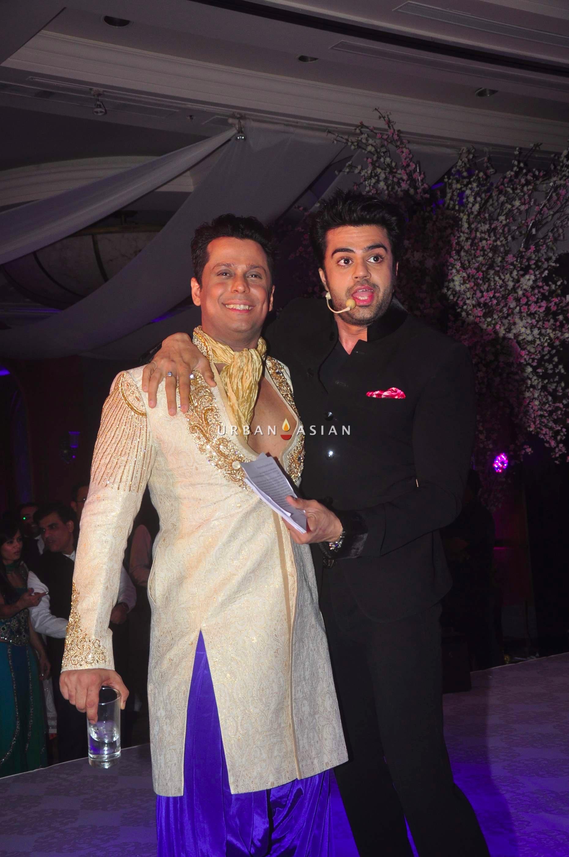 Vikram Singh and Manish Paul