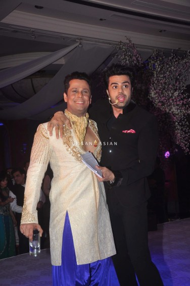 Vikram Singh and Manish Paul