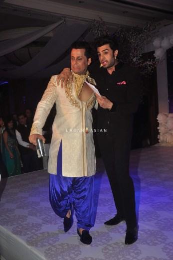 Vikram Singh and Manish Paul1