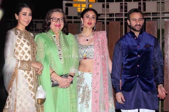 Kareena Kapoor, Saif and Karishma Kapoor
