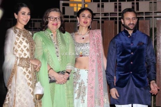Kareena Kapoor, Saif and Karishma Kapoor
