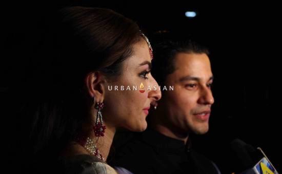 Soha and Kunal at the reception