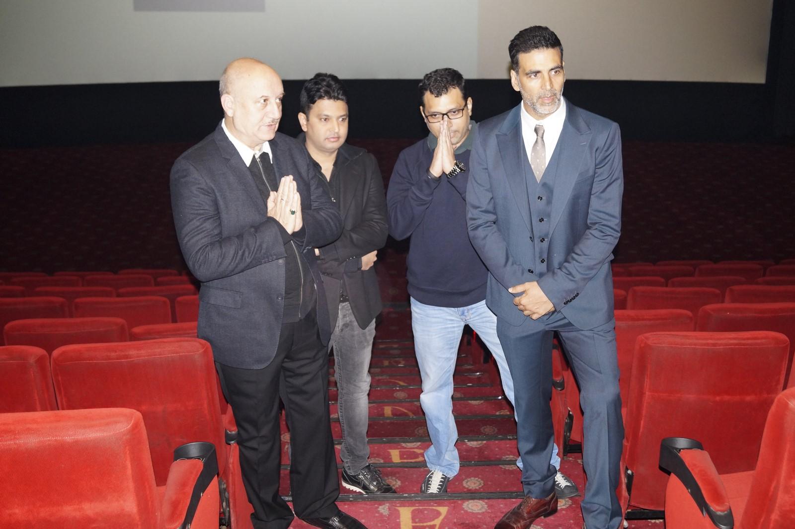 Anupam Kher-Bhushan Kumar-Neeraj Pandey-Akshay Kumar