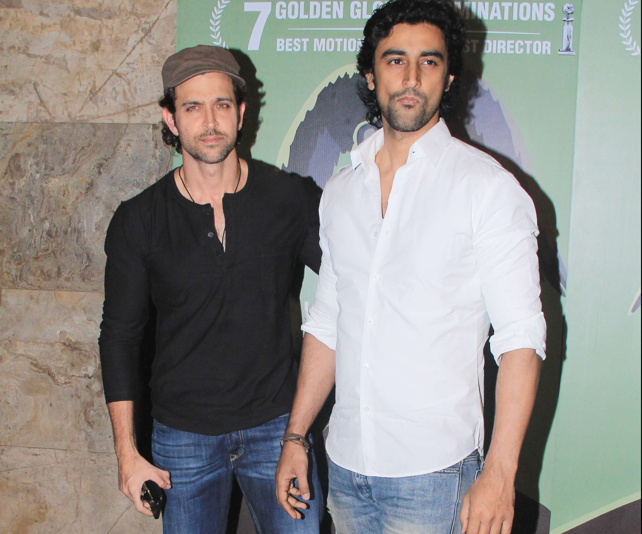 Hrithik and Kunal Kapoor