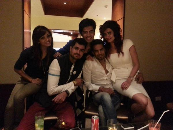 Bigg Boss 8 contestants enjoying themselves