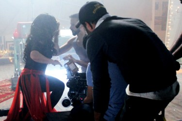 Shooting of Tu Beh Gaya