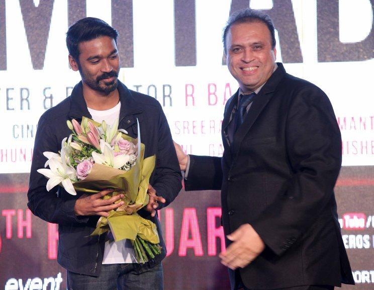 Dhanush With Javed Shafi
