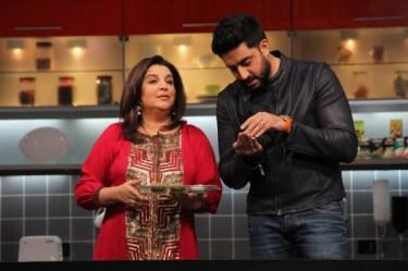 Farah and Abhishek