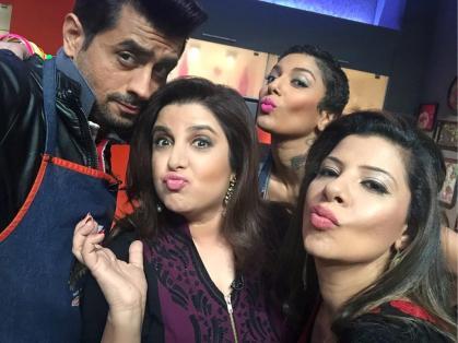 Pritam, Farah, Diandra and Sambhavna