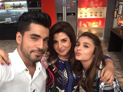 Gautam, Farah and Alia