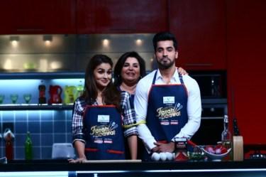 Alia, Farah and Gautam