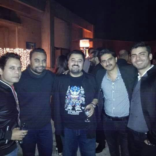 Fawad with his band, Entity Paradigm
