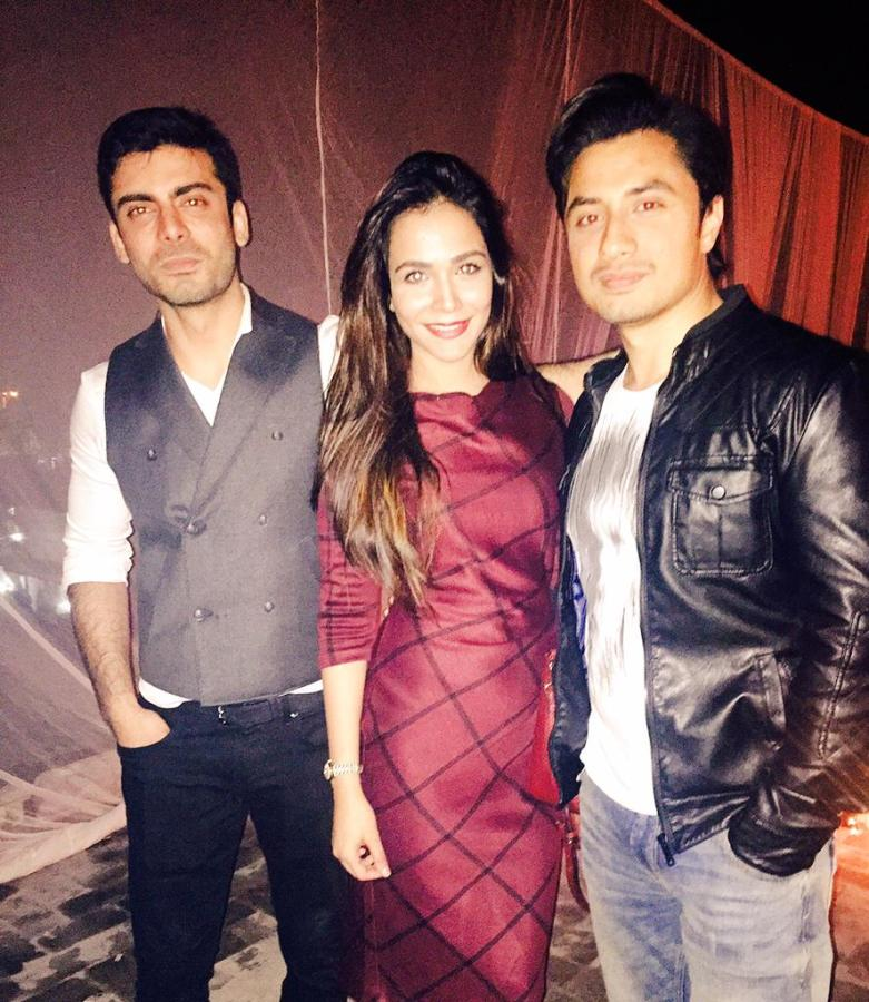 Fawad Khan, Humaima Malick and Ali Zafar
