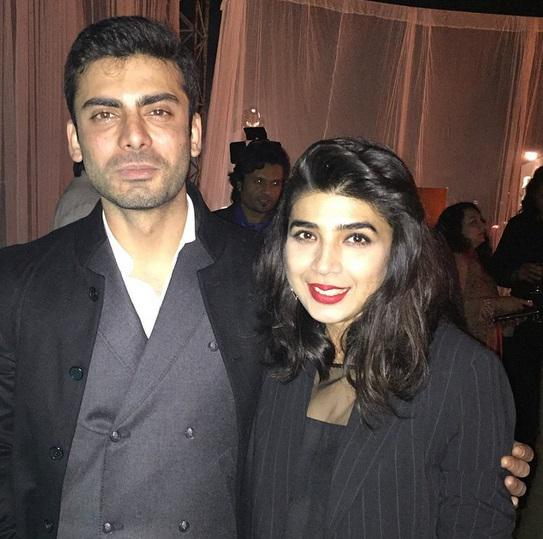 Fawad Khan and Sadaf Zarra