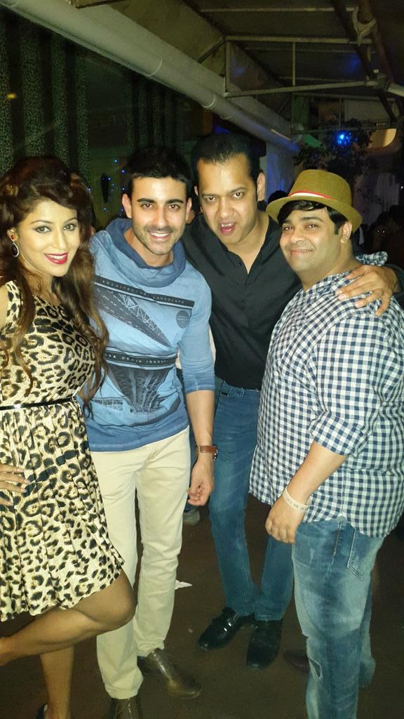 Debina, Gautam Rode, Rahul and Kiku Sharda