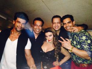 Kushal, Vindu Dara Singh, Rakhi Sawant and Rahul