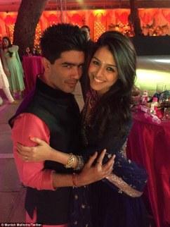 Manish and Raakhee Tandon