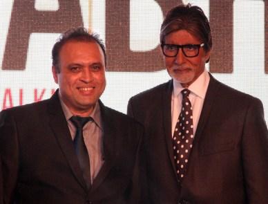 Mr. Amitabh Bachchan With Javed Shafi..