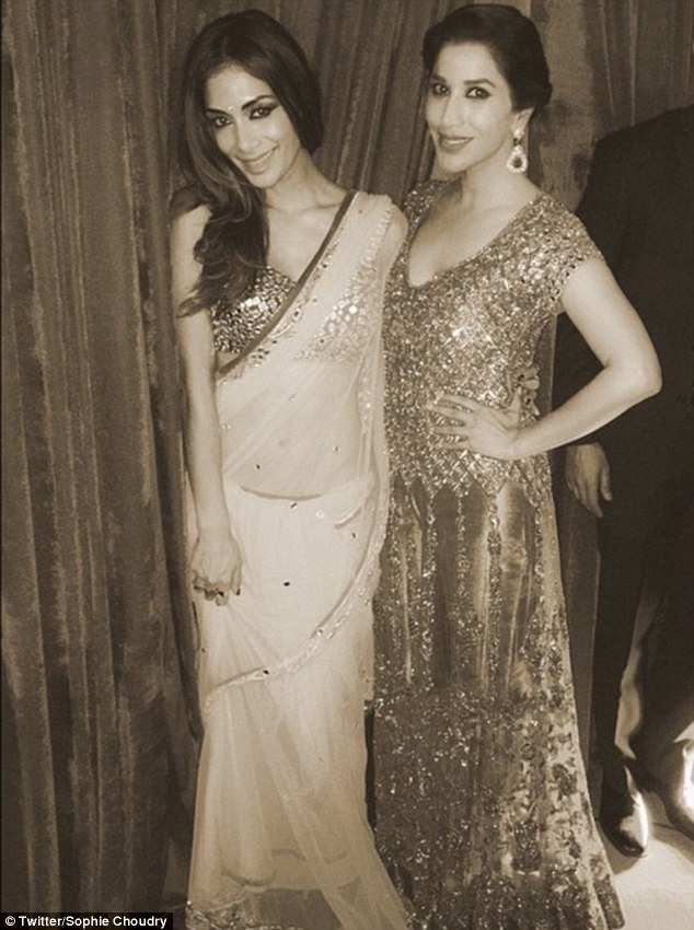 Nicole and Sophie Choudhry