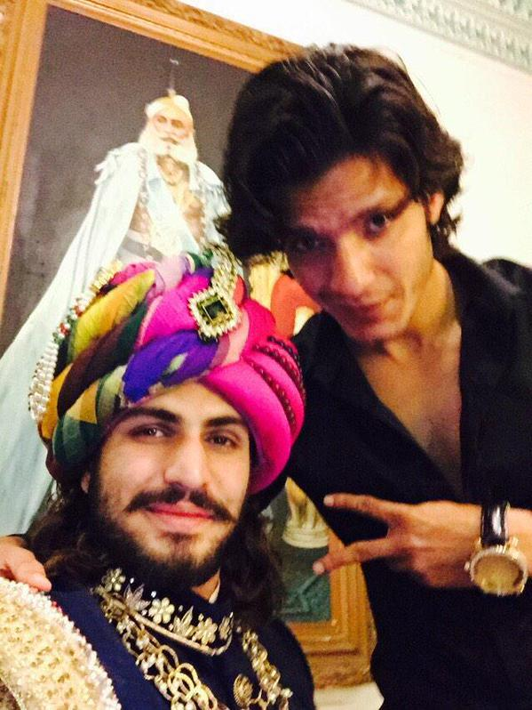 Rajat Tokas and Kaif Ali Khan