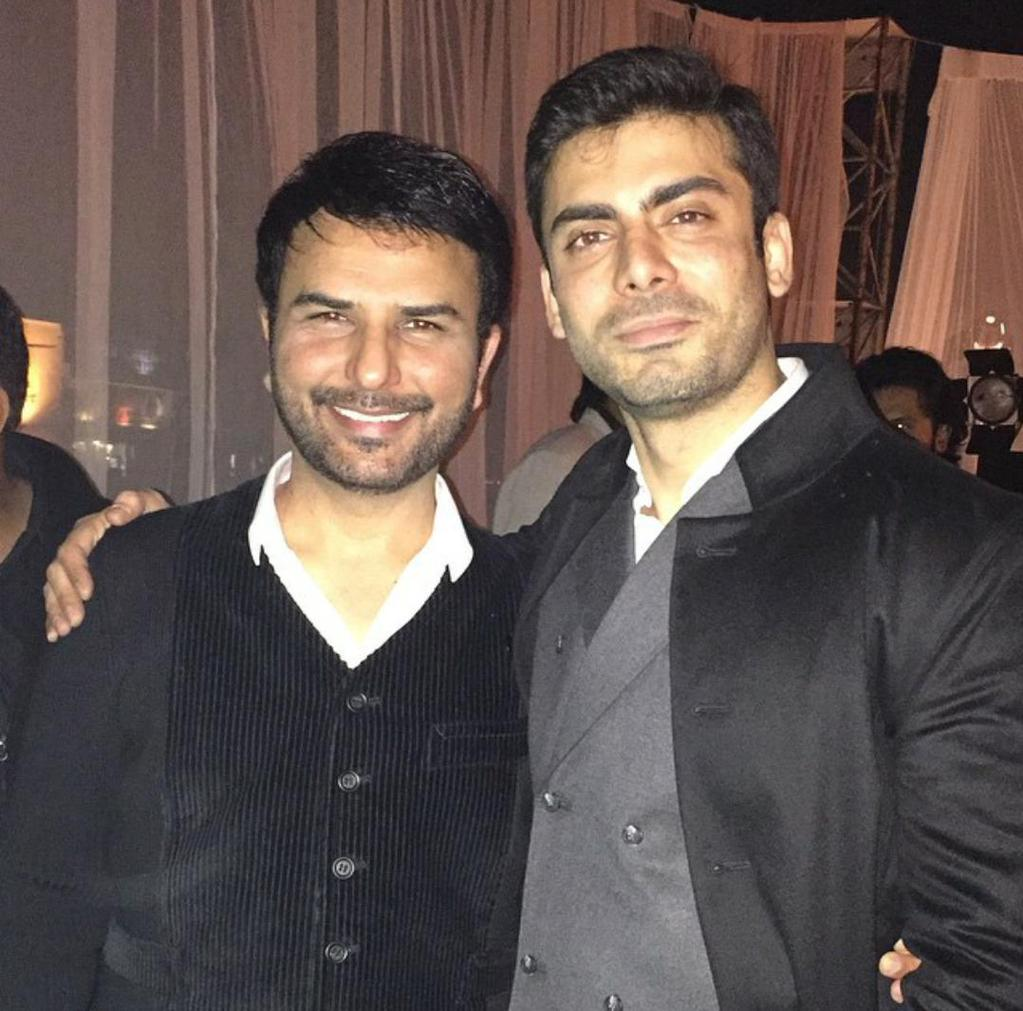 Shahzad Raza with Fawad Khan