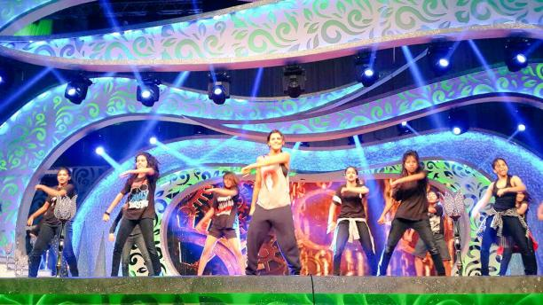 Shakti Mohan rehearsing for her performance