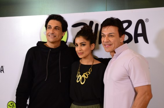 Shiamak Davar, Pallavi Sharda and Beto Perez