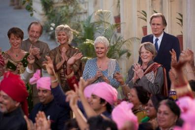 the second best exotic marigold hotel 2
