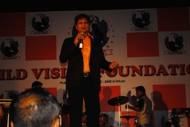 Vinod Kumar At Child Vision Foundation