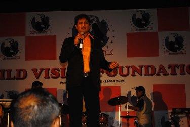 Vinod Kumar At Child Vision Foundation