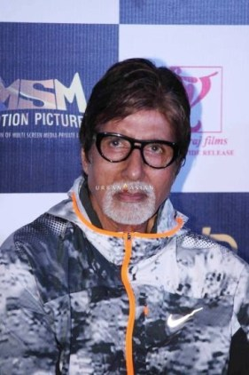 Bollywood actor Amitabh Bachchan during the trailer launch of film Piku