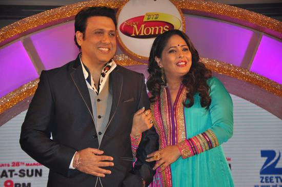 Govinda and Geeta Kapoor