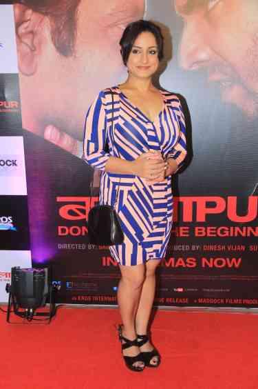 Divya Dutta at the success bash of Badlapur at sofitel bandra (5)