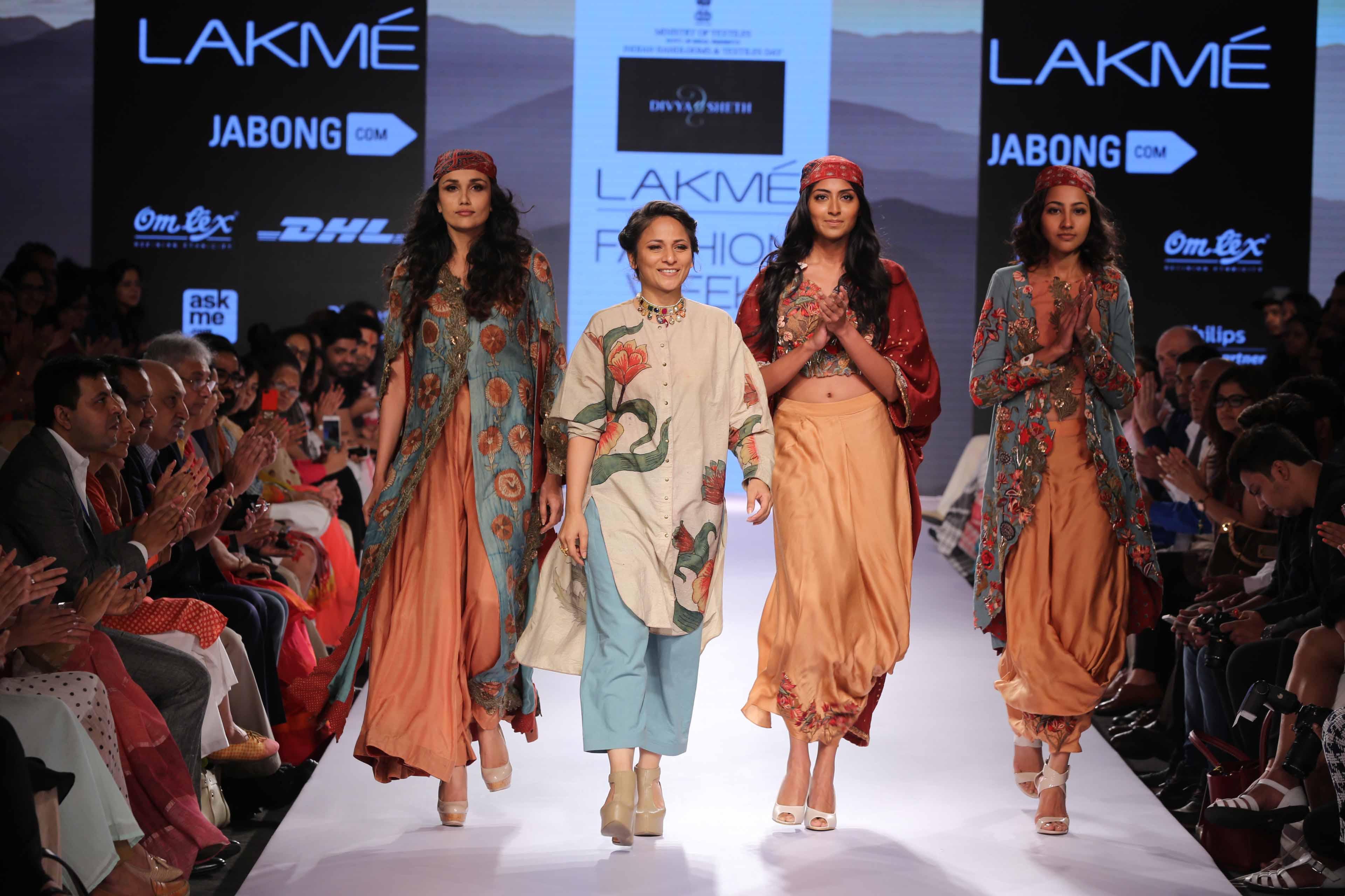 Divya Seth at Lakme Fashion Week Summer Resort 2015