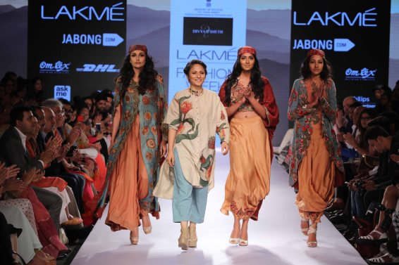 Divya Seth at Lakme Fashion Week Summer Resort 2015