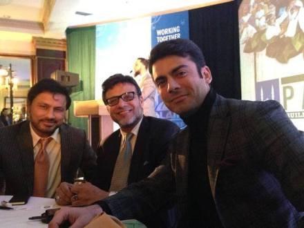 Fawad Khan at IRUSA fundraiser