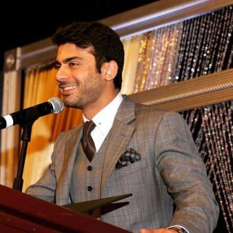 Fawad Khan at IRUSA fundraiser