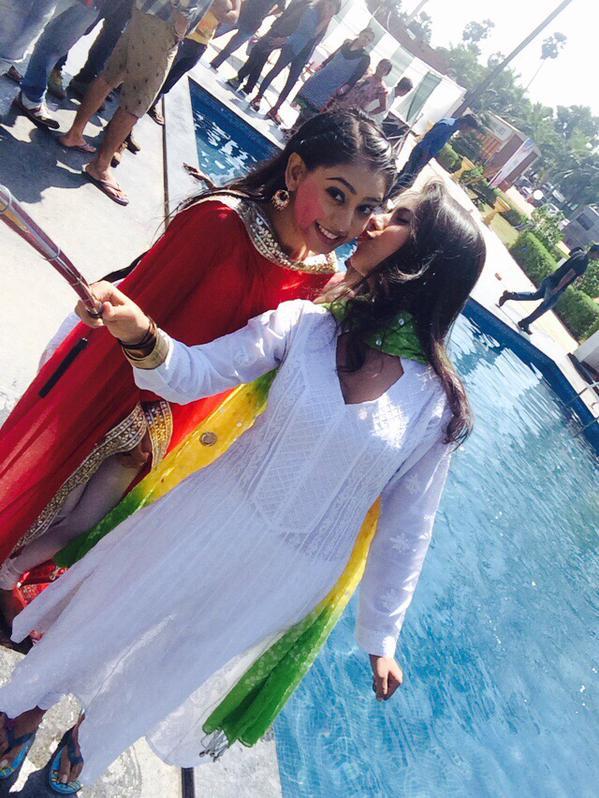 Niti Taylor and Veebha Anand