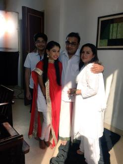 The Murthy family