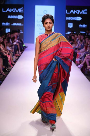 Model walks for Krishna Mehta