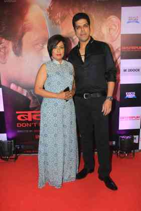 Murali Sharma and Ashwini kalsekar at the success bash of Badlapur at sofitel bandra (7)