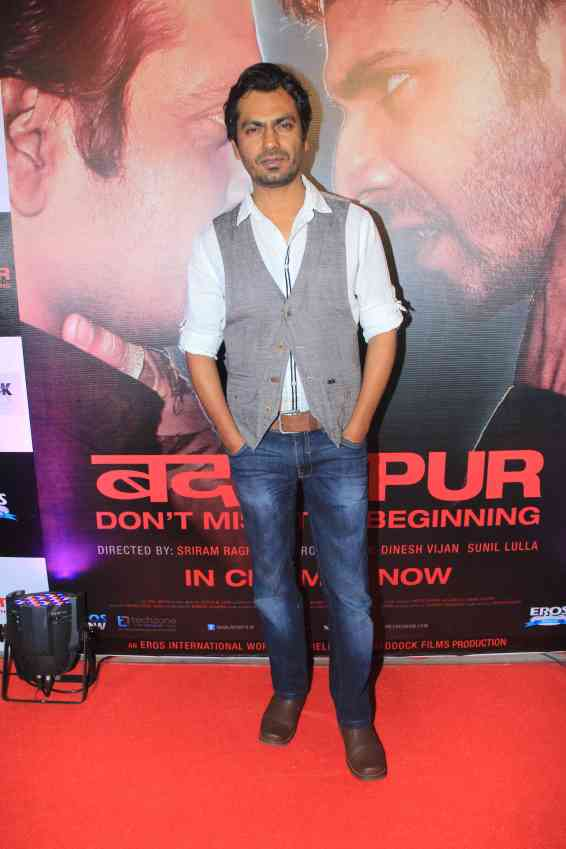 Nawazuddin Siddique at the success bash of Badlapur at sofitel bandra (3)