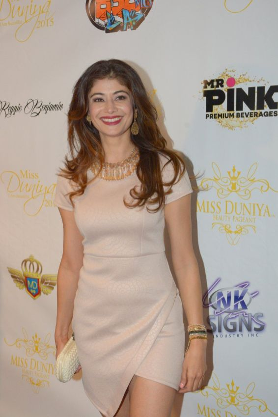 Pooja Batra attended the launch party of Miss Duniya Global Pageant 2015, Los Angeles, California