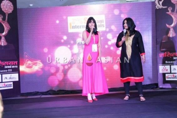 Sagarika after the performance of 'O Ri Chiraiya'