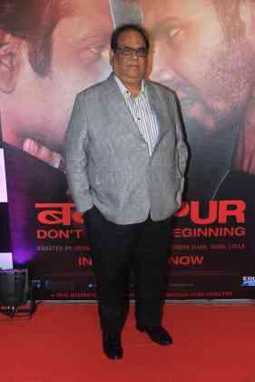Satish Kaushik at the success bash of Badlapur at sofitel bandra (12)