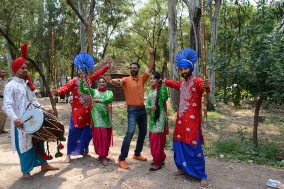Akshay Kumar celebrating Baishaki