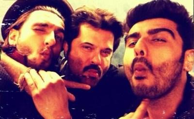arjun, ranveer and anil