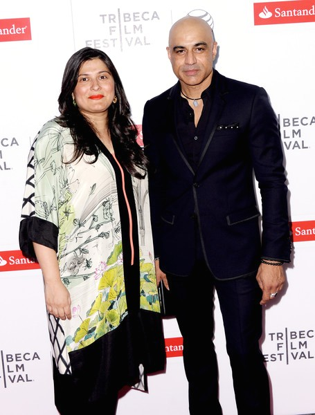 Faran Tahir & Sharmeen Obaid Chinoy at Tribeca