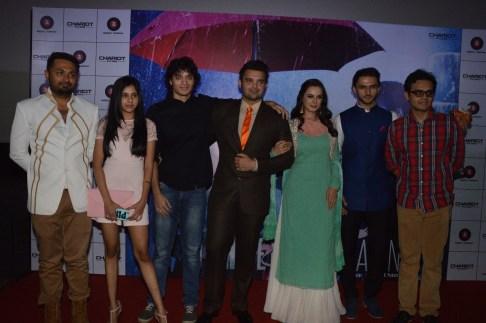 (L-R) Irfan Khatri, Dishani Chakraborthy, Rimoh Chakraborthy, Mahakshay, Evelyn, Mohit, Namashi Chakraborthy