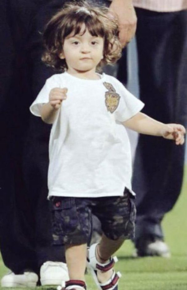 abram at a KKR cricket match